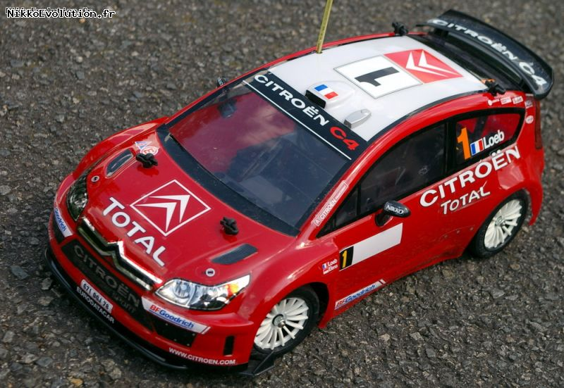 la citroen c4 wrc de s bastien loeb en s rie evolution 14. Black Bedroom Furniture Sets. Home Design Ideas