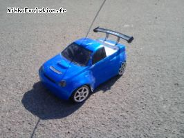 Subaru pick up 1:16 sur chassis 1:14